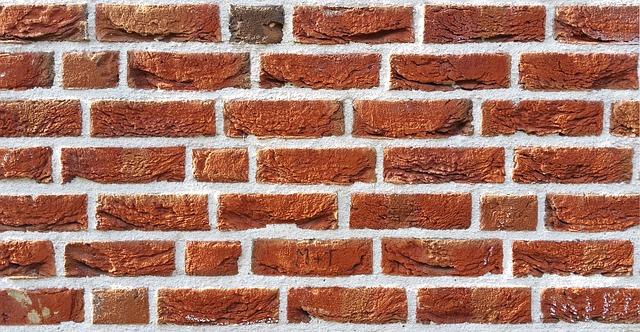 cihlová zeď