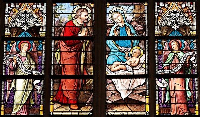 okna kostela