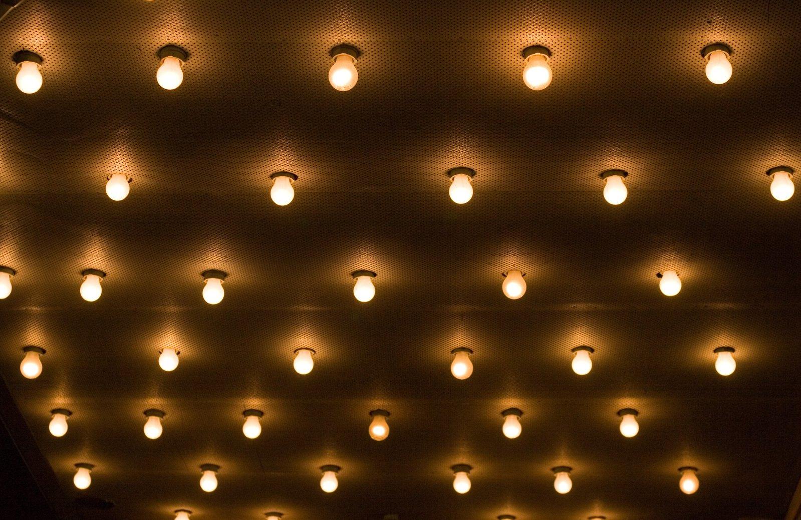 svetlá, žiarovky